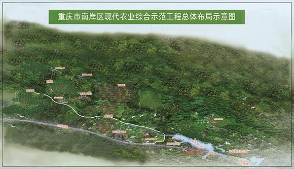 重庆市南岸区现代农业综合示范亚博体育手机建设规划
