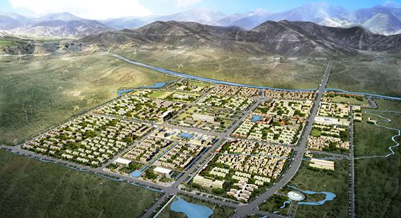 西藏自治区谢通门县引水入城概念规划方案